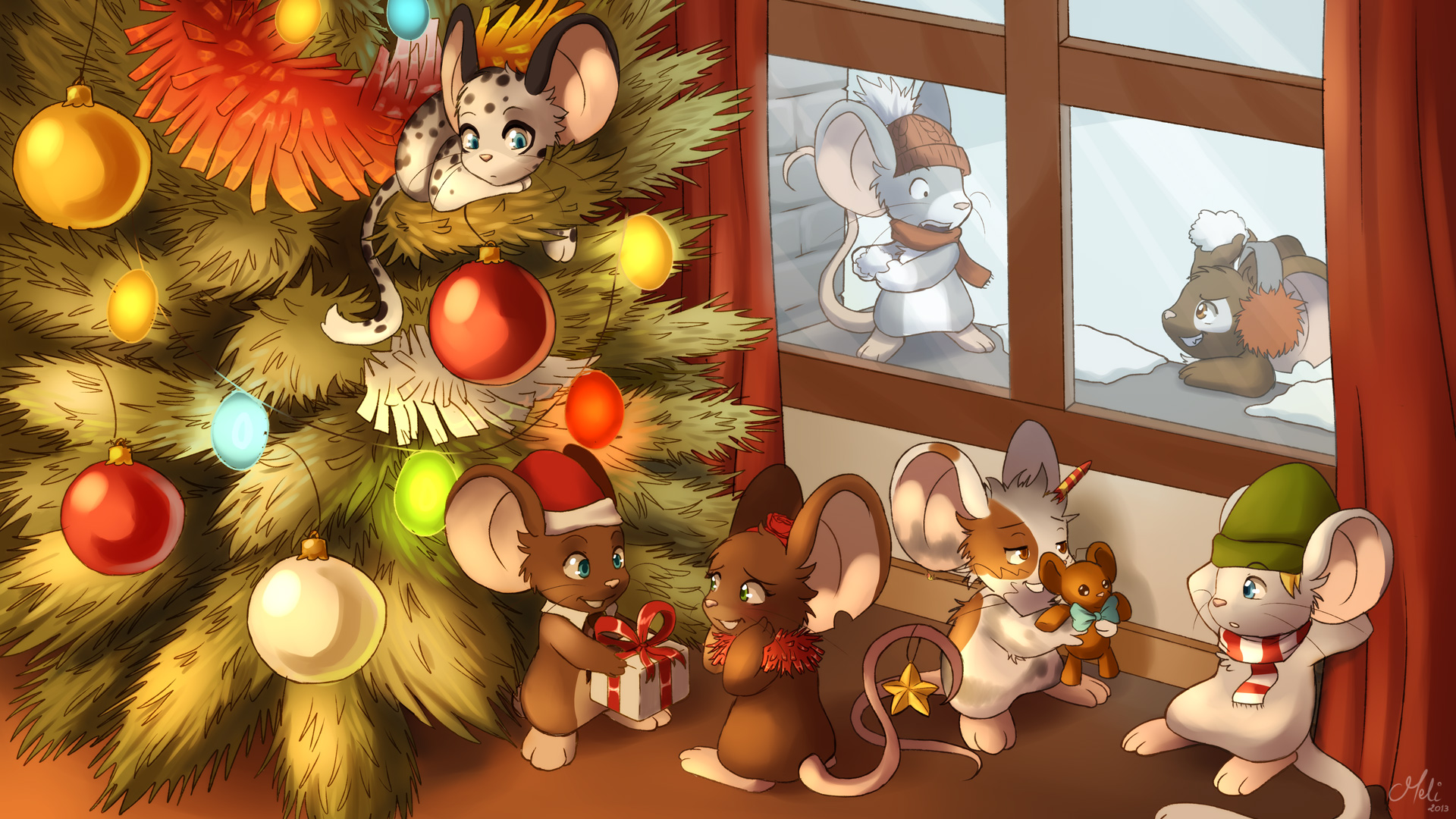 Transformice wallpapers - Creation de noel pour tout petit ...